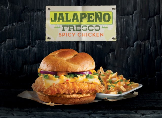 Wendy S Introduces Jalapeno Fresco Spicy Chicken Sandwich And New