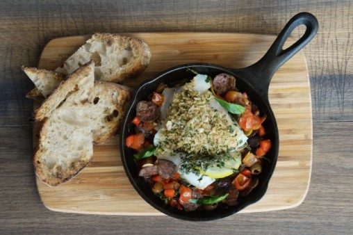 Cod Skillet by Pantry Cafe