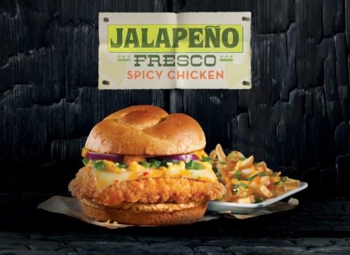 Wendys Jalapeño Fresco Spicy Chicken Sandwich
